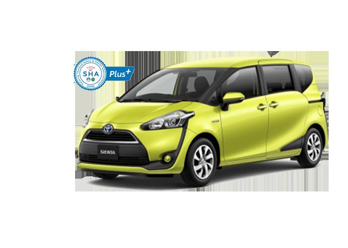 Toyota Sienta for rent Phuket Car Rent, รถเช่าภูเก็ต