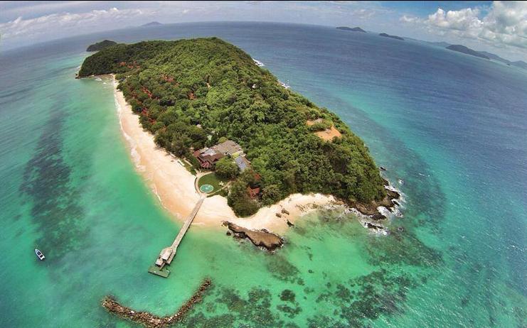 เกาะไม้ท่อนมุมสูง
